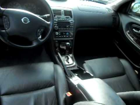 2002 Nissan Maxima Gle Fully Loaded Mileage 97k