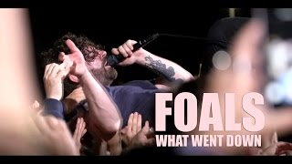Foals -  What Went Down - live (Tinals 2016)