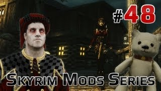 ★ Skyrim Mods Series - #48 - Jester Outfit ReTexture, No Spinning Death Animation, Plush Backpack