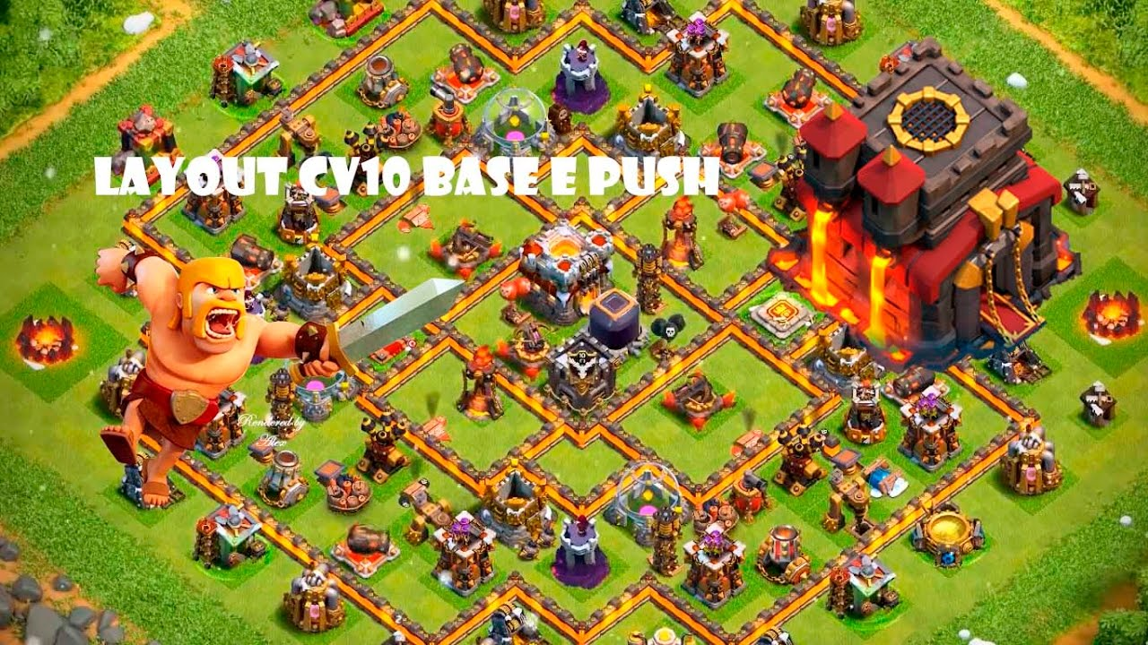 LAYOUT DE PUSH PARA CV 10 BEST LAYOUT PUSH TH 10 CLASH OF