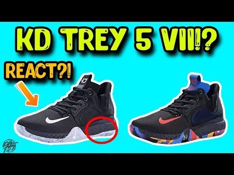 Nike KD Trey 5 VII LEAK with FULL LENGTH REACT FOAM?!