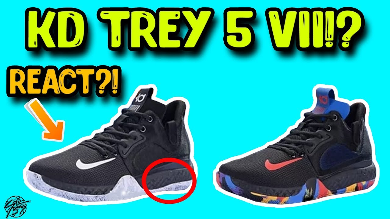 buy popular 91bbb 09652 ... best price nike kd trey 5 vii leak with full length react foam 578d4  c37f5