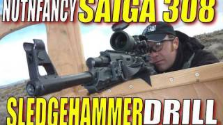 "Trial by Fire: Saiga 308 in ""The Sledgehammer"" (Prelim Run)"