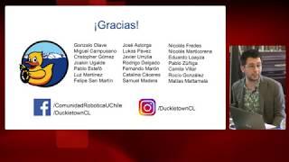 3°Sesión Mesa Robotica impacto en educación: expone proyecto Duckietown Chile