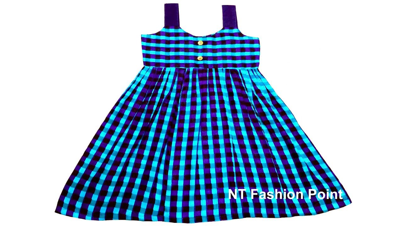 Simple Girls Dress Pattern Magnificent Decorating