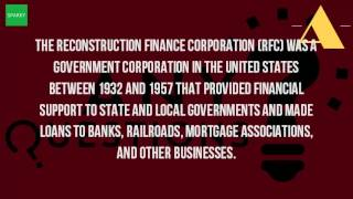 What Is The Definition Of Reconstruction Finance Corporation?