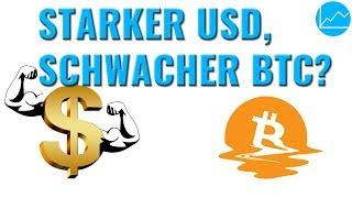 Starker USD, schwacher BTC? Der Dollar als Waffe für Trump. Bietet Bitcoin Ländern Schutz?