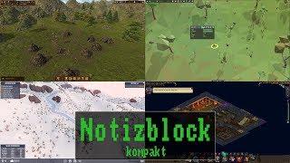 Notizblock kompakt #072: Dawn of Man | Equilinox | Snowtopia  | Little Imps