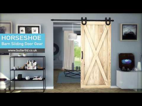 Barn Style Sliding Door Gear | HORSESHOE | Buller Ltd