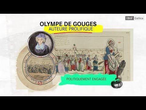 Vidéo BNF Pionnières! – Olympe de Gouges