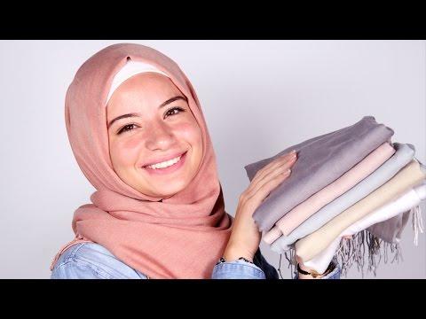 0a3657935fe34  كيف يمكن تنسيق الوان الحجاب؟ - YouTube