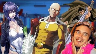 Анимцо!! #8 ~ One Punch Man 2, Ghost in the Shell и PewDiePie!