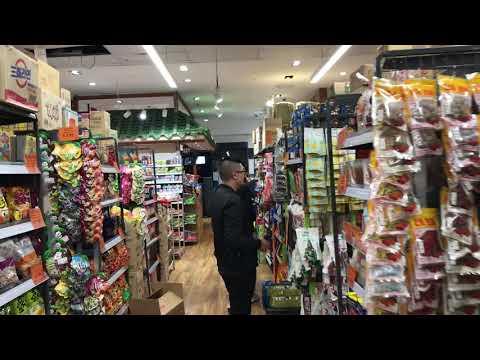 Asian supermarket in Sydney