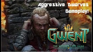 Gwent Aggressive Dwarves Deck