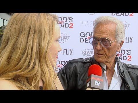 "Pat Boone Interview ""God's Not Dead 2"" Premiere Red Carpet"