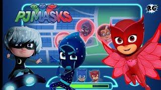 Pj Mask: Héroes en Pijamas - Derrotemos a Luna y los Ninjalinos - Disney Junior