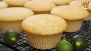 CALAMANSI MUFFINS | How to Make Soft and Fluffy Calamansi Muffins | Mortar and Pastry
