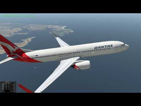 X-Plane 11 Tour By Request: Sydney (YSSY) to Queenstown in New Zealand (NZQN). FULL FLIGHT!