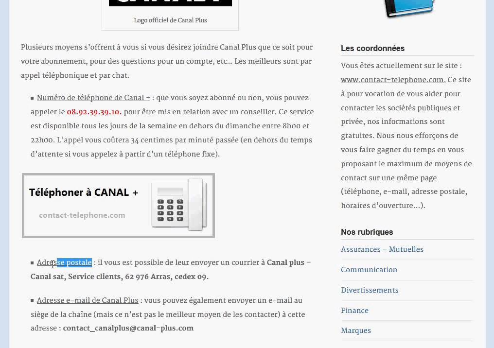 Comment Contacter Canal Youtube