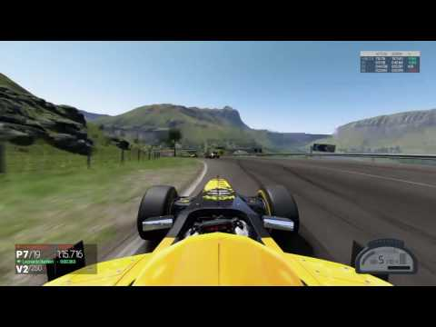 Project F1 PS4 Test 250 Laps