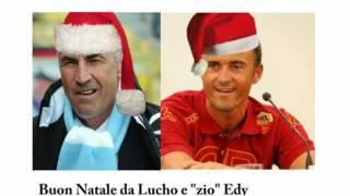 Luis Enrique ed Edy Reja, la canzone di Natale