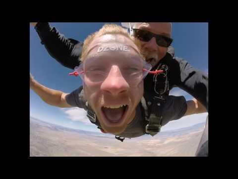 Matthew Lester's Tandem skydive!