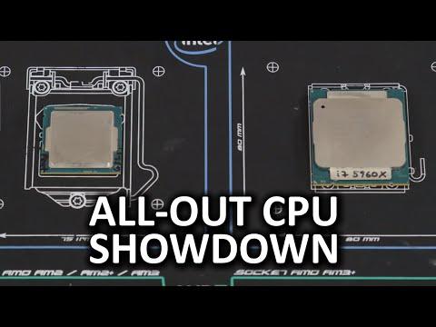 Heavyweight vs Lightweight CPU Showdown - Intel i7 5960X and Pentium G3258