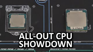 Heavyweight vs Lightweight CPU Showdown - Intel i7 5960X and Pentium G3258