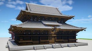 【Minecraft】東寺を作る -五重塔編