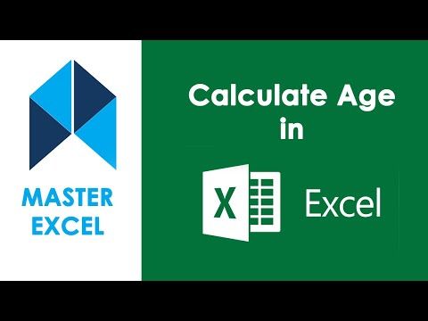 Calculate Age In Excel