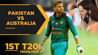 Pakistan vs Australia | 1st T20I Highlights | PCB | MA2E