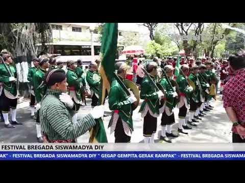 Festival Bregada Siswamadya DIY (Liputan oleh Kresna TV 61 UHF Yogyakarta)