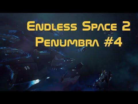 Endless Space 2 deutsch Let's play Penumbra  #4 [Sonden und Hacken] |