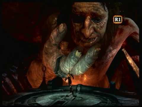 God of War 3 Kratos kills Hephaestus