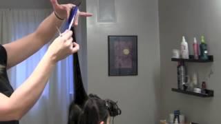 Слоистая стрижка на длинные волосы для подростков