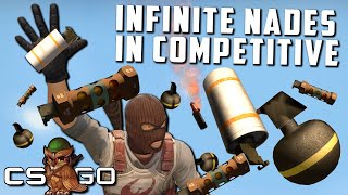 Infinite Nades in Competitive Counter-Strike