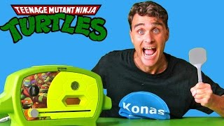 Teenage Mutant Ninja Turtles Pizza Oven ! || Toy Review || Konas2002