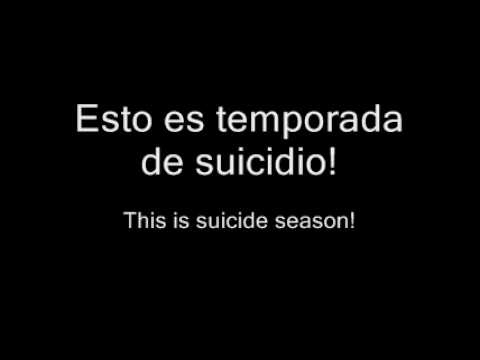 Bring me the Horizon  Suicide Season español  ingles