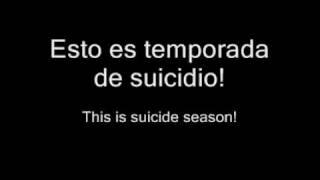 Bring me the Horizon - Suicide Season (español - ingles)