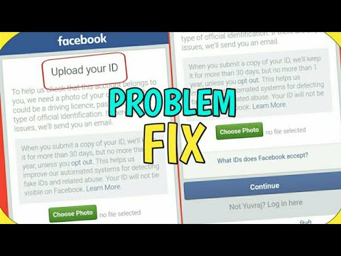 Upload Your ID Problem Solved || Upload ID Problem || Facebook New Problem Issue 2019