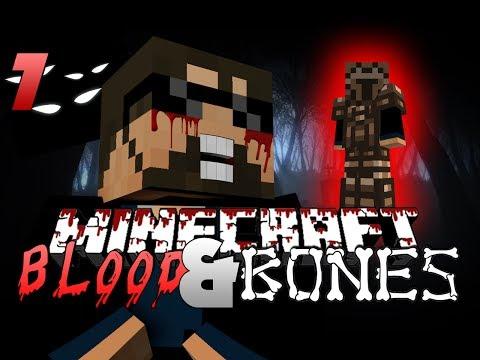 Minecraft FTB BLOOD AND BONES 7 - NEW ARMOR UPGRADE (Minecraft Mod Survival FTB)