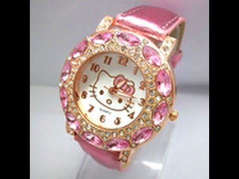 Детские наручные часы Hello Kitty на AliExpress - YouTube d5914d35846ad