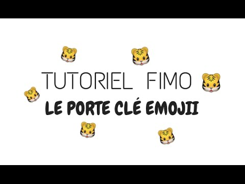 tutoriel fimo le porte cl emojii youtube. Black Bedroom Furniture Sets. Home Design Ideas