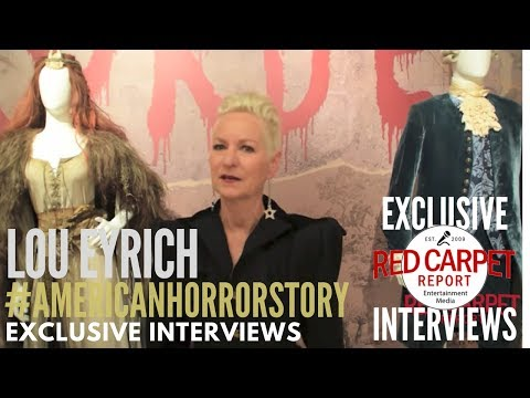 Lou Eryich, Costume Designer, interview at American Horror Story: The Style of Scare Exhibit