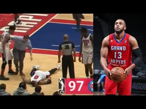 NBA G League Player Zeke Upshaw DIES After Collapsing On Court