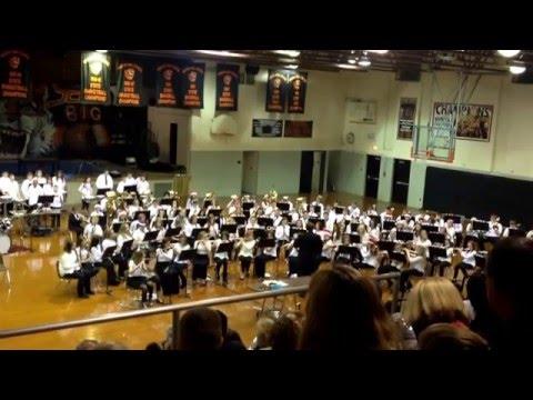 Buffalo/Vinson Middle Schools Christmas Concert 2015