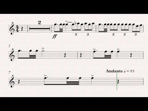 20th Century Fox Theme  Trumpet 1