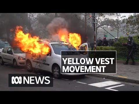 Violence Returns To Paris Marking A Year Since Yellow Vest Protests Began | ABC News