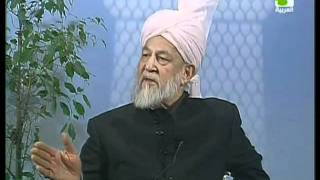 Liqa Ma'al Arab 31 March 1998 Question/Answer English/Arabic Islam Ahmadiyya