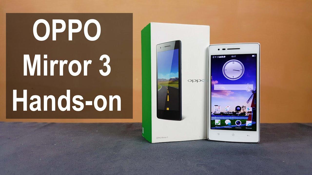 Harga Oppo Mirror 3, HP 3 Jutaan Terbaru Murah 2021